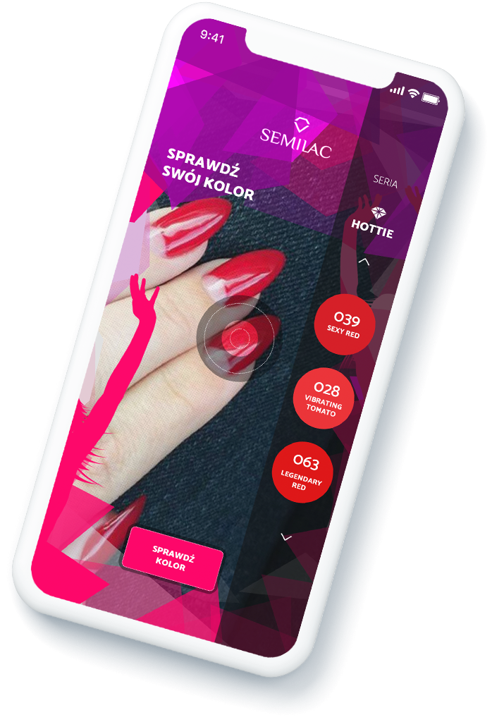 DETECT COLOR OF YOUR NAILS APP